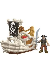 Imaginext Mattel Médio Pirata - Billy Bones Boat