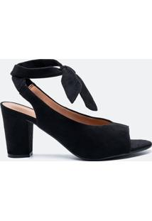 6c059ef22 Ir para a loja; -10% Sapato Feminino Peep Toe Detalhe Amarração Vizzano