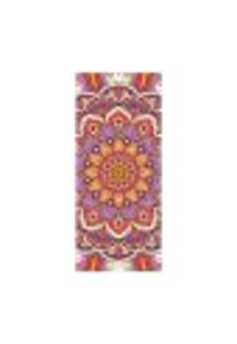 Adesivo Decorativo De Porta - Mandala - 2414Cnpt