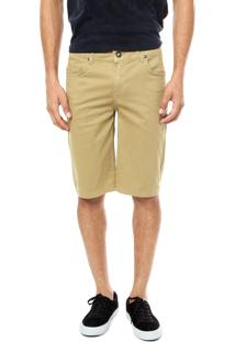 Bermuda Jeans Volcom 2X4 Bege