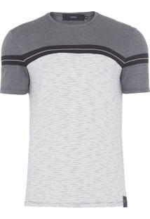 Camiseta Masculina Jersey Triple Block Classic - Off White