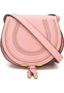 Chloé Bolsa Marcie Mini - Rosa