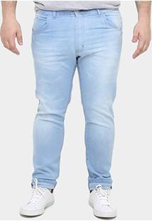 Calça Jeans Preston Plus Size Estonada - Masculino