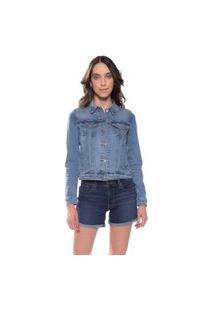Jaqueta Jeans Levis Trucker Azul