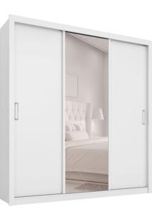 Guarda-Roupa Casal Com Espelho Residence I 3 Pt 2 Gv Branco