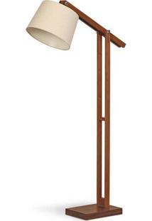 Luminária De Coluna Em Madeira Imbuia 251.03 Trevisan