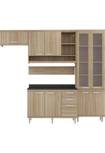 Cozinha Compacta Roberta Iii 9 Pt 3 Gv Argila