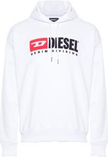 Blusa Masculina Moletom S Division - Branco