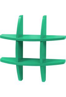 Prateleira Decorativa Pequena Taylor 600 Verde Anis - Maxima