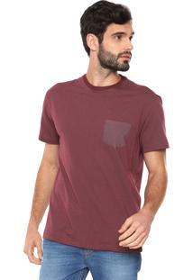 Camiseta Reserva Reta Pontos Vinho