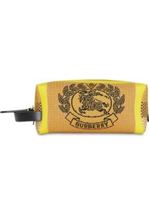 Burberry Archive Crest Knitted Pouch - Preto
