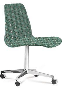 Cadeira Eames Loft Verde E Cinza