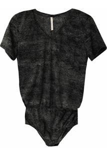 Body Tea Shirt Chumbo Mescla