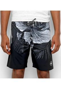 Boardshort Wg Realflex Big Floral Masculina - Masculino