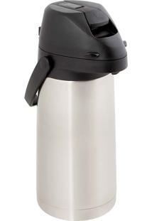 Garrafa Térmica Total Inox Airpot Com Alavanca 1,9L Mor