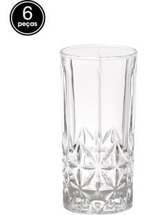 Conjunto 6Pçs Copos Rojemac Para Drink Stella 290Ml Bon Gourmet