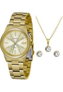 Relógio Lince Feminino Lrgh125L Kx22C1Kx Dourado