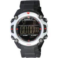 c225ecd2749 Relógio Digital Speedo 81113G0 - Masculino - Preto Cinza Claro