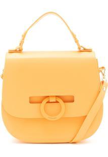 Bolsa Transversal Petite Jolie Fosca Amarela