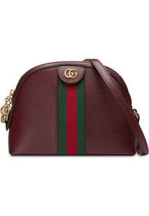 Gucci Bolsa Tiracolo Ophidia Pequena - Vermelho