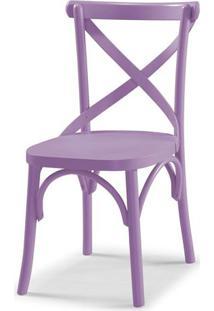 Cadeira X Cor Lilas - 31332 - Sun House