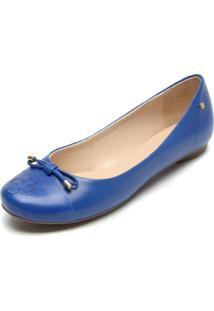 1a95ef3635 ... Sapatilha Couro Capodarte Bordado Azul