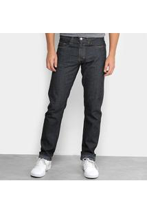 Calça Jeans Slim Dubai Masculina - Masculino-Preto