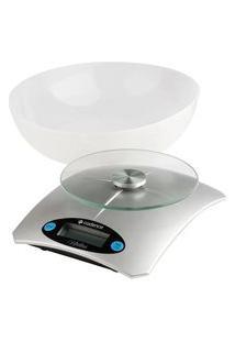 Balança De Alta Precisão Cadence Bal153 Utilità Para Cozinha Bateria Prata