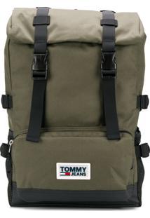 Tommy Hilfiger Urban Varsity Backpack - Verde