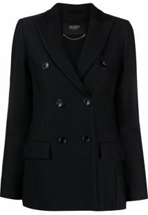 Seventy Double-Breasted Jacket - Preto
