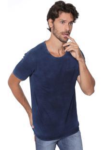 Camiseta Malwee Bolso Azul