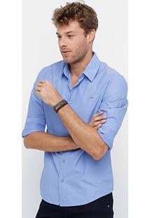 Camisa Colcci Slim Fit Mini Print Masculina - Masculino