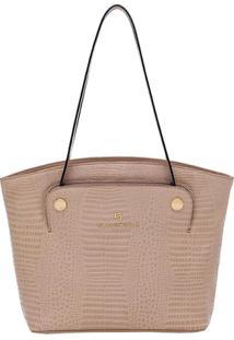 Bolsa Smartbag Tiracolo - Feminino-Bege