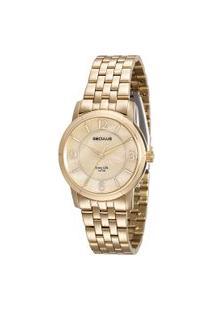Relógio Analógico Seculus Feminino - 23588Lpsvda1 Dourado