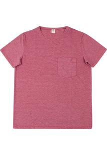 Camiseta Masculina Decote Redondo E Manga Curta