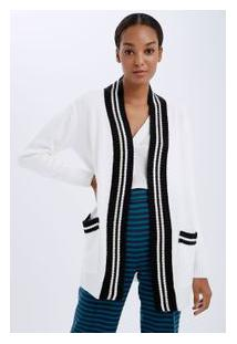Cardigan Maxi Listra Off White