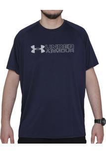Camiseta Under Armour Wordmark Brazil - Masculino