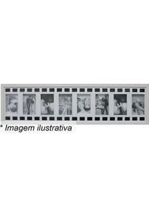 Painel Para 8 Fotos- Branco & Preto- 25X100X3Cmkapos