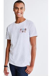 Camiseta Botonê Estampa Abacaxi
