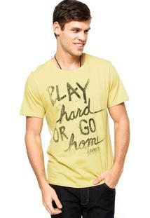 Camiseta Sommer Play Amarela