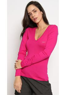 Blusa Com Tag - Pink - Sommersommer