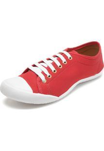f9cd865d4be Kanui. Calçado Tênis Fiveblu Feminino Liso Vermelho