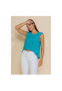 Blusa Feminina Hany Azul