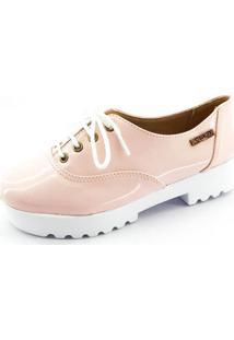 Tênis Tratorado Quality Shoes Feminino 005 Verniz Rosa 34