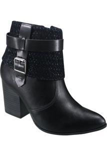 Bota Feminina Ramarim Total Comfort Ankle Boot