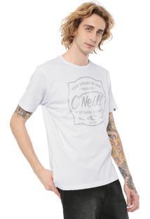 Camiseta O'Neill Strong Branca