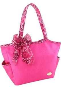 Bolsa Casual Jacki Design Bolso Externo - Unissex-Pink