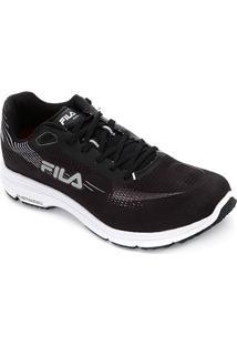 Tênis Fila Kr4 Feminino - Feminino-Preto+Prata