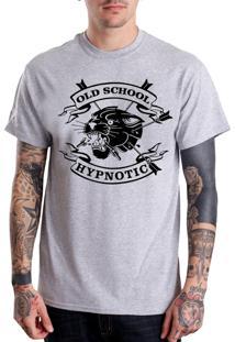 Camiseta Hypnotic Old School Cinza