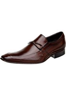 Sapato Bigioni Estilo Italiano Marrom